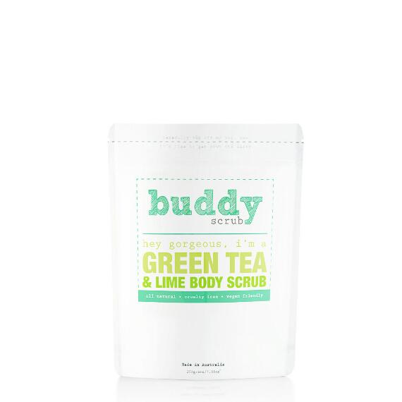 Buddy Scrub 100% Natural Green Tea Body Scrub