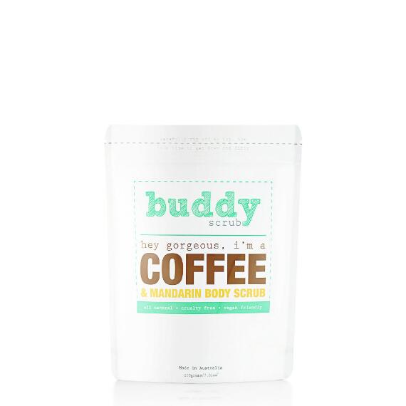 Buddy Scrub 100% Natural Coffee Body Scrub