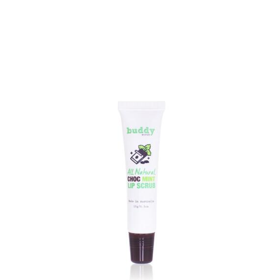 Buddy Scrub 100% Natural Chocolate Mint Lip Scrub