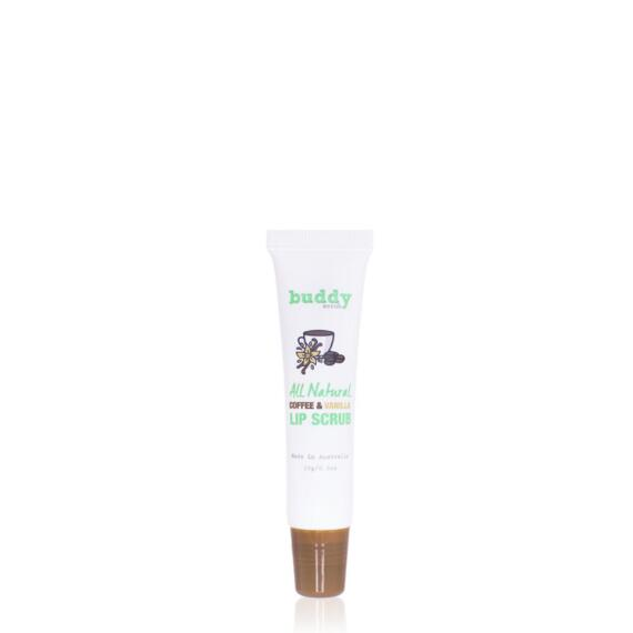 Buddy Scrub 100% Natural Coffee & Vanilla Lip Scrub