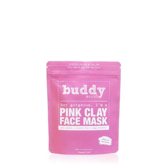Buddy Scrub 100% Natural Pink Clay Face Mask