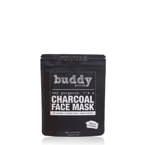 Buddy Scrub 100% Natural Charcoal Face Mask
