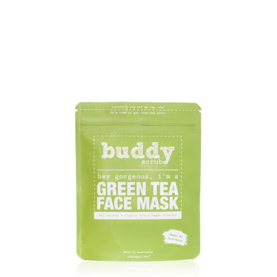 Buddy Scrub 100% Natural Green Tea Face Mask