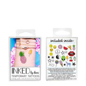 INKED by Dani Trendy Temporary Tattoos Pack