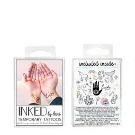 INKED by Dani Luck and Magic Temporary Tattoos Pack