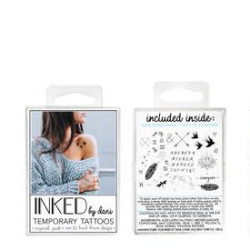 INKED by Dani Inspired Temporary Tattoos Pack