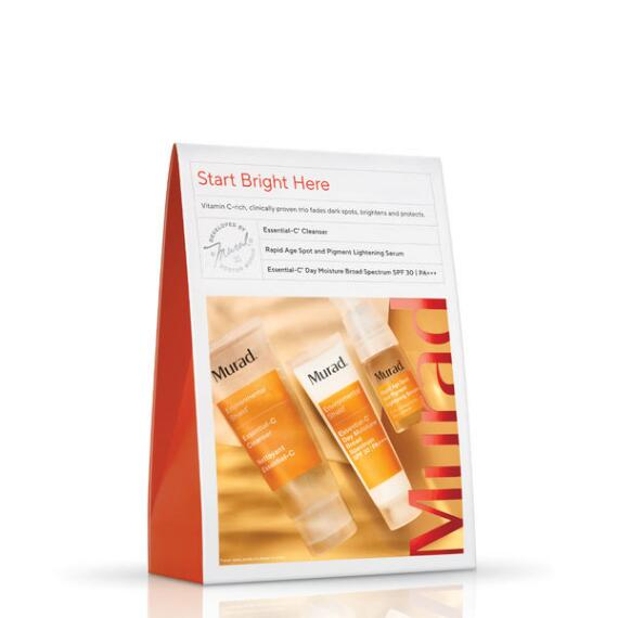 Murad Start Bright Here Trial Kit