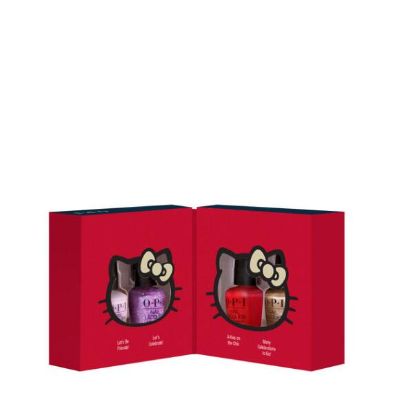 OPI Hello Kitty Holiday Nail Lacquer Mini 4-Pack