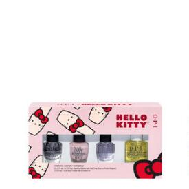 OPI Hello Kitty Holiday Nail Treatments 4-Pack Mini Pack