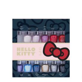 OPI Hello Kitty Holiday Infinite Shine Minis 12-Pack
