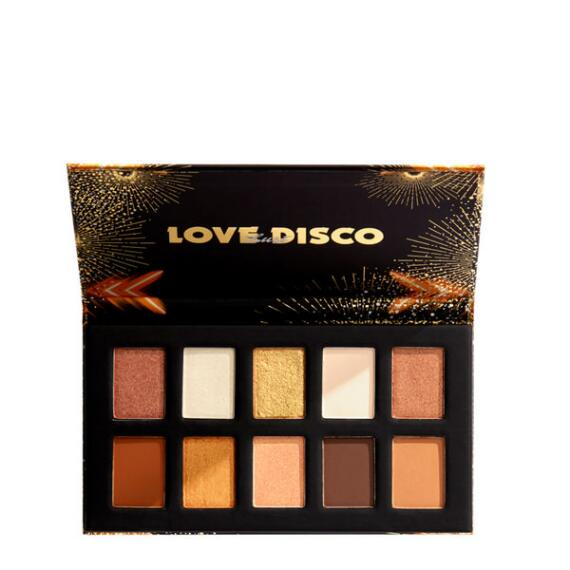 NYX Professional Makeup Love Lust Holiday Disco Shadow Palette