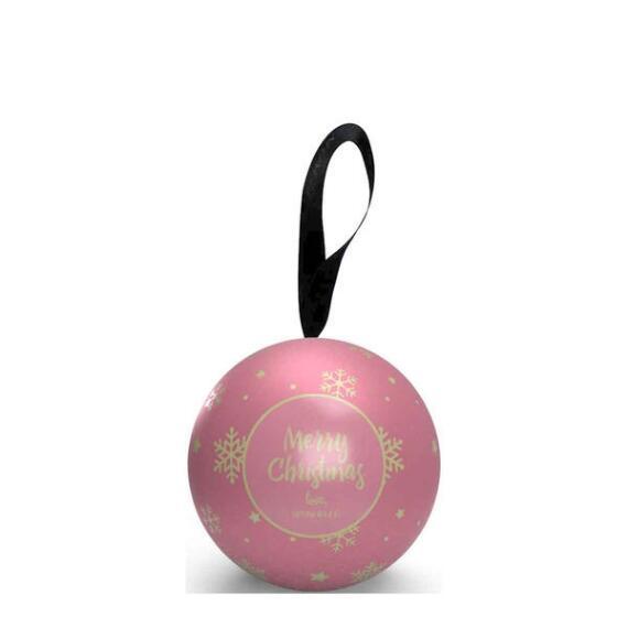 Spongelle Holiday Shimmer Ornament Buffer - Brilliant Tuberose