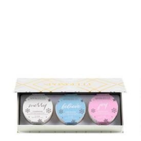 Spongelle 3-pc Holiday Ornament Set - Holiday Cheer