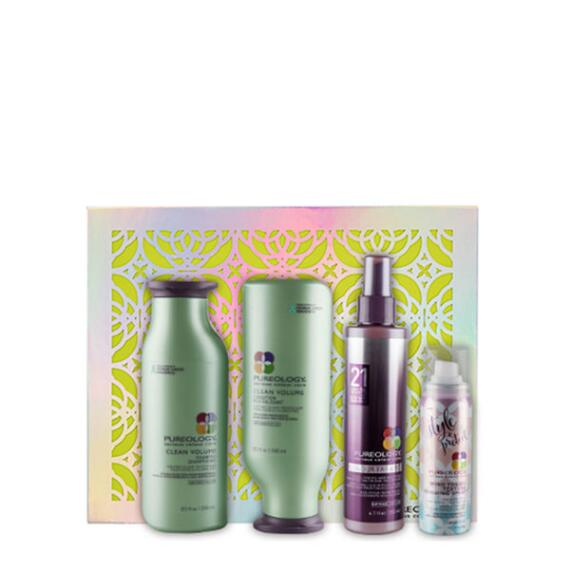 Pureoloy Clean Volume Holiday Set