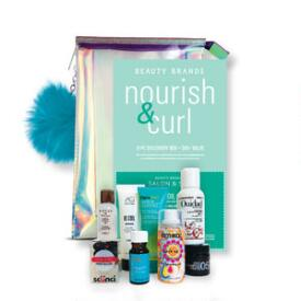 Beauty Brands Nourish & Curl 8-Piece Discovery Box
