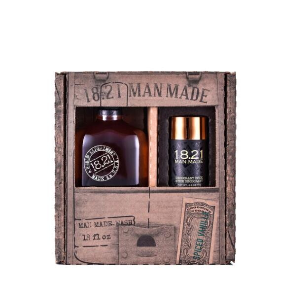 18.21 Man Made Spiced Vanilla Wash and Deodorant Duo