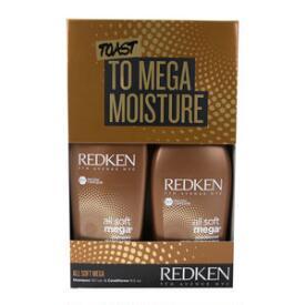 Redken All Soft Mega Holiday 2-pc Kit