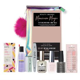 Beauty Brands Manicure Magic 10-pc Discovery Bag