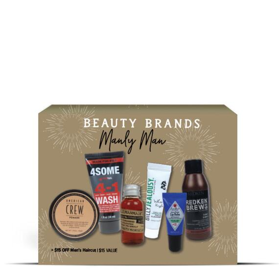 Beauty Brands Manly Man 6-pc Discovery Box