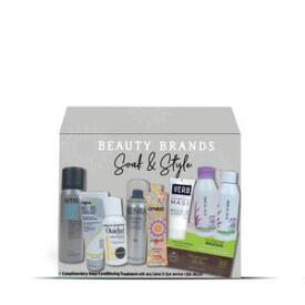 Beauty Brands Soak & Style 9-pc Discovery Box