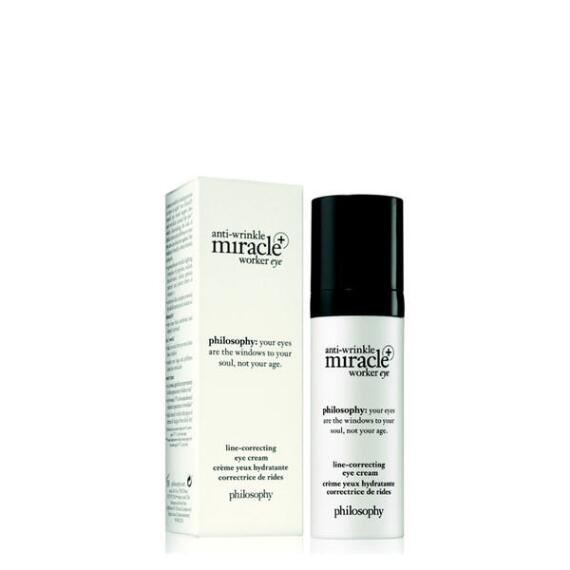 philosophy anti-wrinkle miracle worker line-correcting eye cream