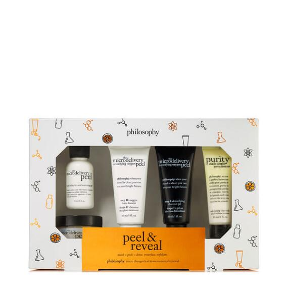 philosophy Peel and Reveal Set