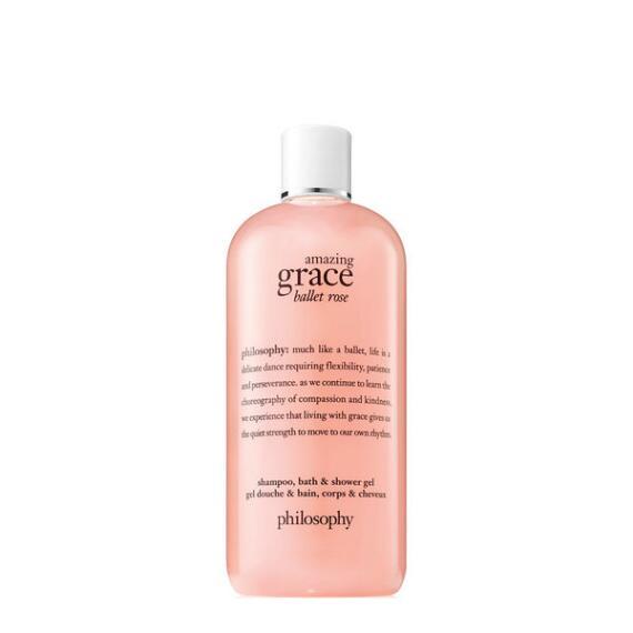philosophy amazing grace ballet rose shampoo, bath & shower gel
