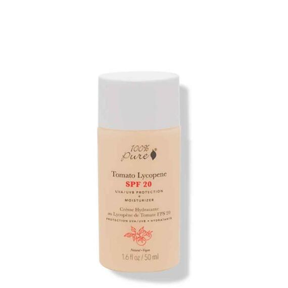 100% Pure Tomato Lycopene Moisturizer SPF 20