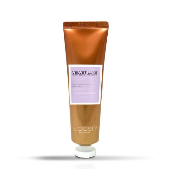 Voesh Velvet Luxe Body & Hand Creme Travel Size - Lavender Relieve