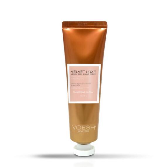 Voesh Velvet Luxe Body & Hand Creme Travel Size - Tangerine Glow