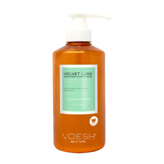 Voesh Velvet Luxe Body & Hand Creme - Cucumber Fresh