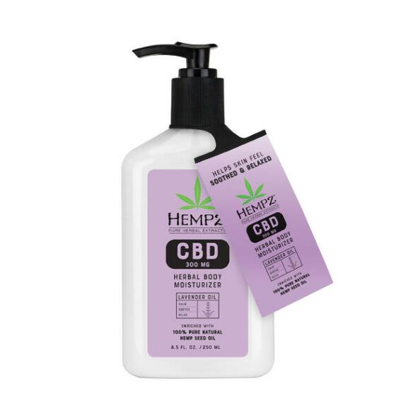Hempz Herbal Body 300mg CBD Lavender Oil Lotion