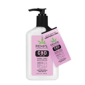 Hempz Herbal Body 300mg CBD Rose Oil Lotion