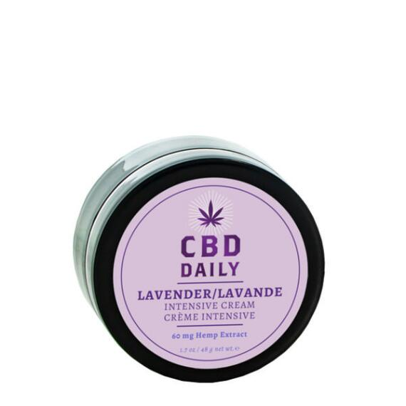 CBD Daily Intensive Cream Original Strength in Lavender