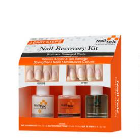 Nail Tek Nail Recovery Kit 3-pc Damaged Nails Kit