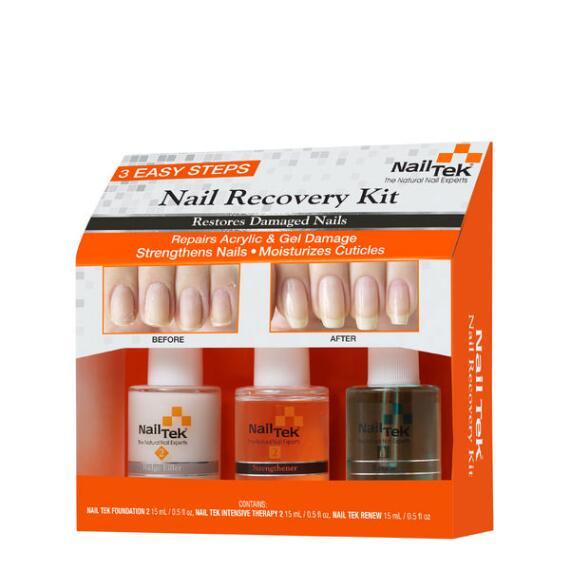 Nail Tek Nail Recovery Kit 3-pc Damaged Nails Kit