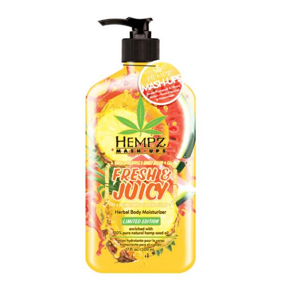 Hempz Fresh & Juicy Mash-Up Sweet Pineapple & Honey Melon + Fresh Coconut & Watermelon Herbal Body Moisturizer