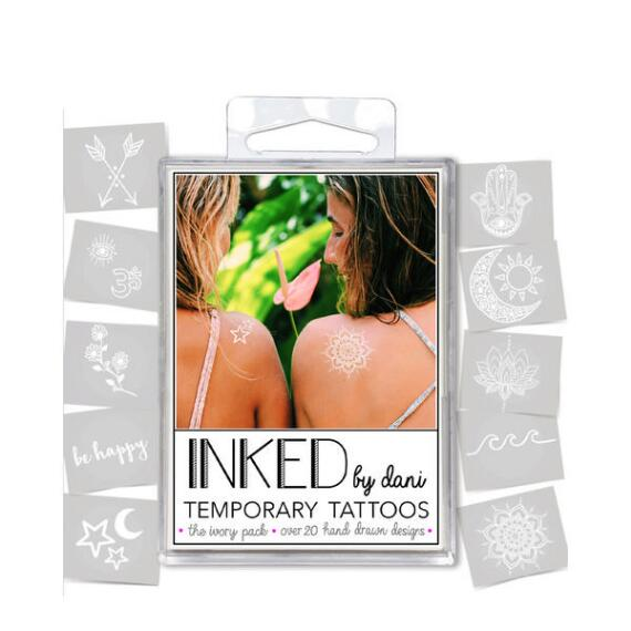 INKED by Dani Ivory Temporary Tattoos Pack