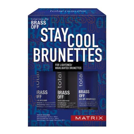 Matrix Total Results Brass Off Toning Trio Kit