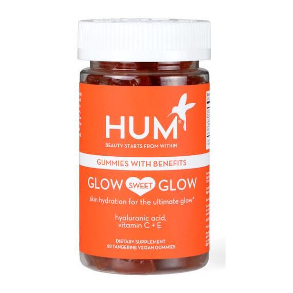 HUM Nutrition Glow Sweet Glow Skin Hydration Vegan Gummies