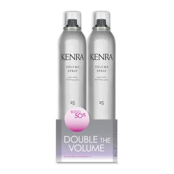 Kenra Volume Spray 25 Super Hold Finishing Spray Duo