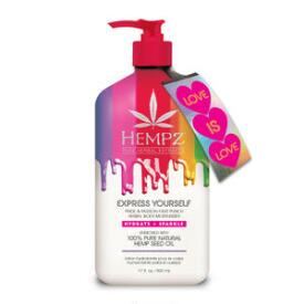 Hempz Limited Edition Express Yourself Pride & Passion Fruit Punch Herbal Body Moisturizer
