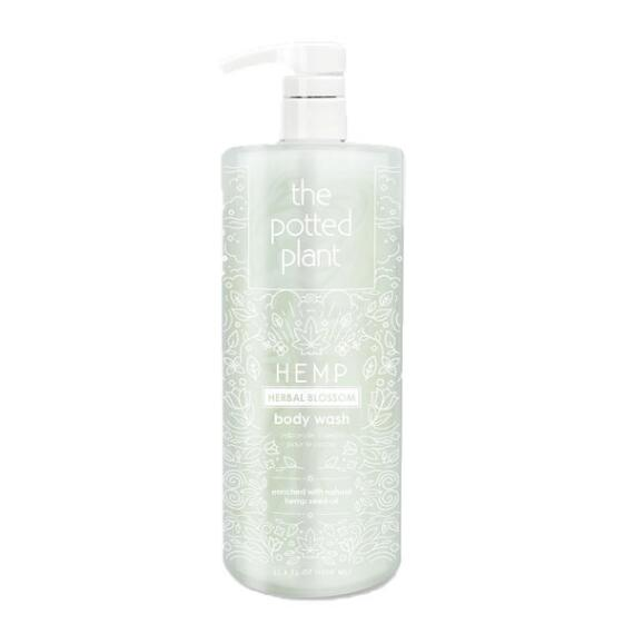 The Potted Plant Herbal Blossom Hemp-Enriched Herbal Body Wash