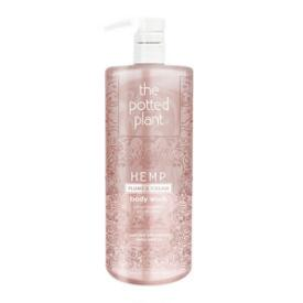 The Potted Plant Plums & Cream Hemp-Enriched Herbal Body Wash