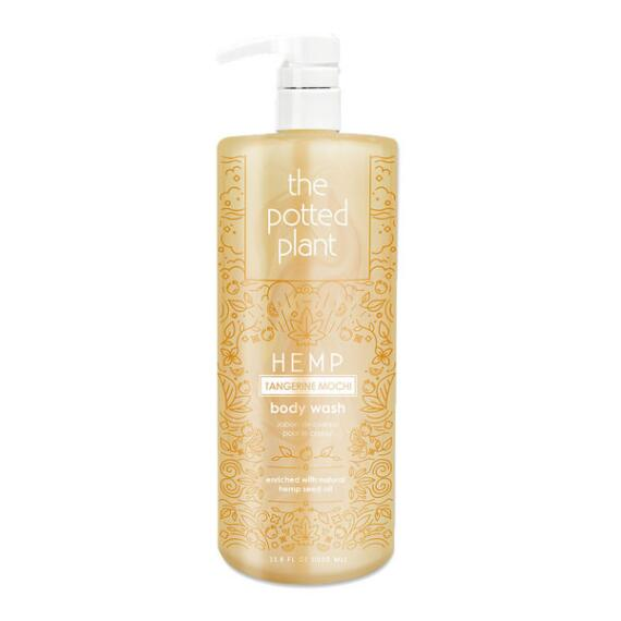 The Potted Plant Tangerine Mochi Hemp-Enriched Herbal Body Wash