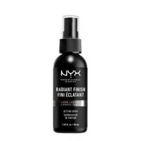NYX Radiant Finish Makeup Setting Spray