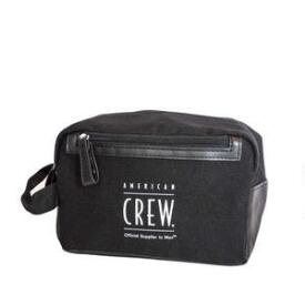 American Crew Black Dopp Bag