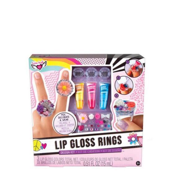 Fashion Angels Lip Gloss Rings Design Kit