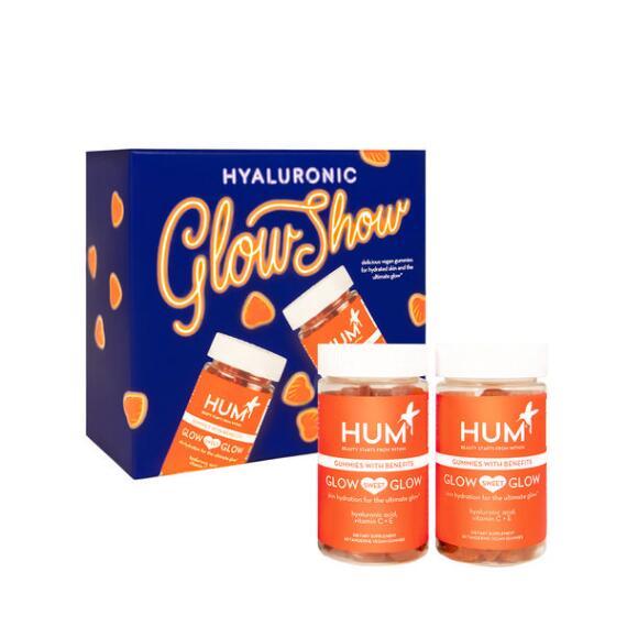 HUM Nutrition Hyaluronic Glow Show 2-pc Glow Sweet Glow Gummies Set