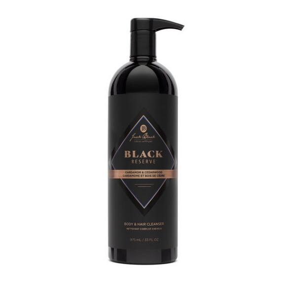 Jack Black Black Reserve Body & Hair Cleanser with Cardamom & Cedarwood